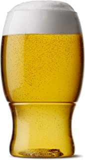 TOSSWARE 18oz Pint - recyclable beer plastic cup - SET OF 48 - stemless, shatterproof and BPA-free beer glasses