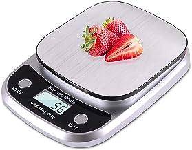 ميزان مطبخ من ارابست - 10 كجم/1 جرام موازين طعام عالية الدقة للمطبخ، مناسبة للخبز، الطبخ وصناعة القهوة، إلخ.