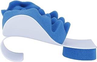 Almohada de alivio para masajes de viaje, dispositivo de relajación muscular, almohada para el cuello, masajeador para el cuello, soporte para el cuello, almohada para el cuello, hombro