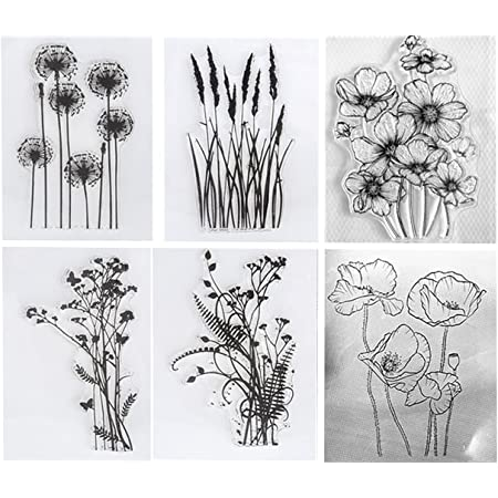 Mounted Rubber Stamp Stampin/' Up! DAISIES FLOWERS