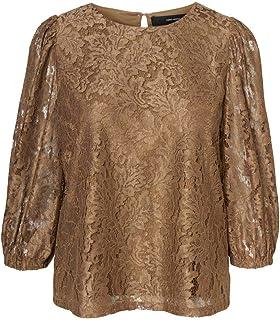 Vero Moda Women's BONNA 3/4 LACE Top