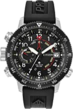 Citizen Men's Promaster Altichron Rubber Strap Watch