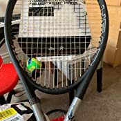 Head Ti.S6 4-5//8 Grip STRUNG  with Vibration Dampener Tennis Racquet