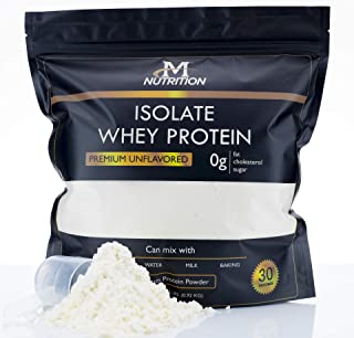 Premium Quality Whey Isolate Protein Powder   Keto Friendly Low Carb Protein Powder   2 Pounds Unflavored Protein Powder With Clean Ingredients   2 Ingredient Isolate Whey Protein