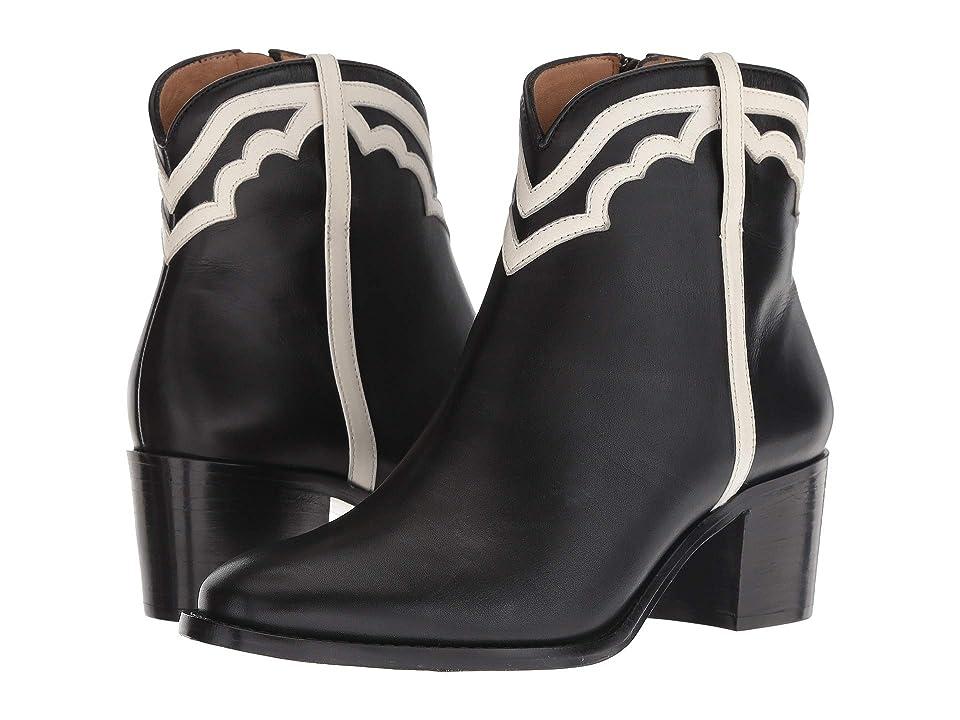 Lucchese Maya (Black/White) Cowboy Boots