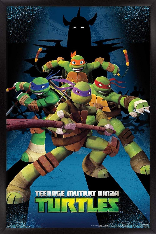 Trends International Nickelodeon Teenage Max 58% OFF Large special price !! Turtles Ninja - Mutant