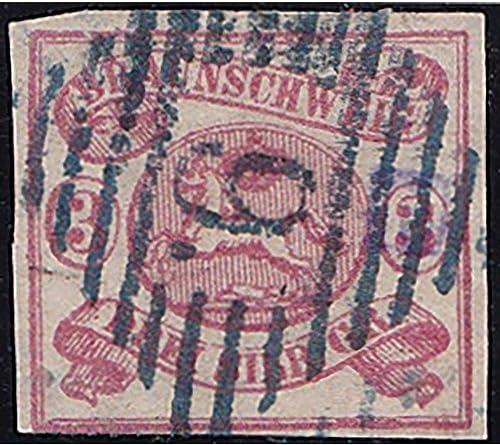 Goldhahn BraunschWeiß Nr. 12 Aa gestempelt geprüft Briefmarken für Sammler