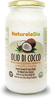 comprar comparacion Aceite de Coco Ecológico Extra Virgen 1000 ml. Crudo y prensado en frío. 100% Orgánico, Puro y Natural. Aceite bio nativo ...