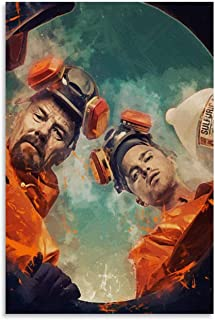 NIUASH Breaking Bad Art Canvas Art Poster and Wall Art Picture Print Modern Family Bedroom Decor Posters 12×18inch(30×45cm)