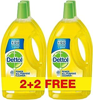 منظف جميع الأغراض برائحة الليمون من ديتول - 4 x 900 مل