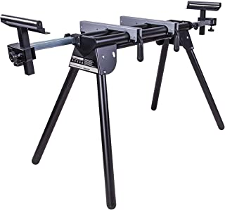 Evolution - 005-0001 Power Tools EVOMS1 Compact Folding Miter Saw Stand with Quick Release Mounting Brackets, Rollers, and...
