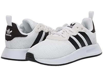 adidas Originals Kids X_PLR 2 (Little Kid) (White/Black) Kids Shoes