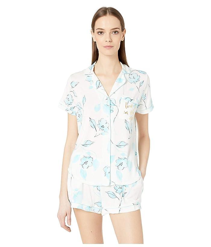 Kate Spade New York Short Pajama Set (Wild Cherry Blossom) Women