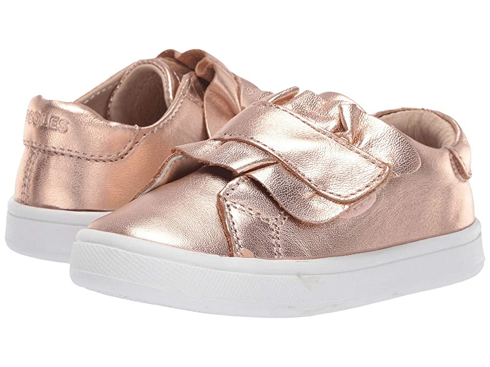 Old Soles Urban Frill (Toddler/Little Kid) (Copper) Girl