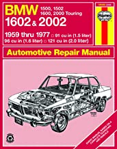 BMW 1500 thru 2002 (59-77) Haynes Repair Manuals (Does not include 2002 turbo models. Includes thorough vehicle coverage apart from the specific exclusion noted)