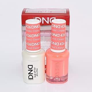 DNDDuo Gel (Gel & Matching Polish) Spring Set 426 - Pastel Orange