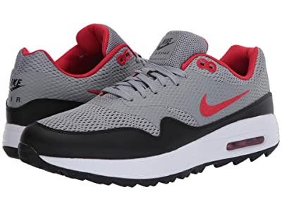 Nike Golf Air Max 1G (Particle Grey/University Red/Black/White) Men