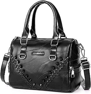 Handbag Messenger Bag Fashion Travel PU Leather Rivet Single Shoulder Crossbody Handbag Bags