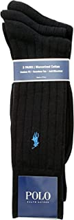 Classic Mercerized Cotton Rib With Polo Player Embroidery 3 Pack