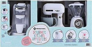 MEMBER'S MARK Gourmet Kitchen Appliance PLAYSET for Kids (White)