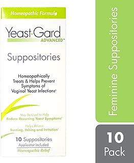 YeastGard Advanced Yeast Infection Feminine Suppositories, 10-Count