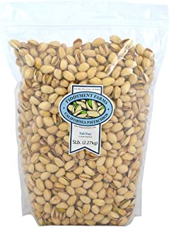 Pistachios, In-Shell Salt Free, 5 Pound