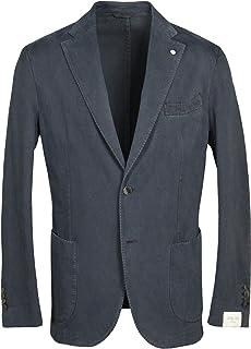 L.B.M. 1911 Trim Fit Garment Dyed Cotton-Cashmere Casual Sport Coat