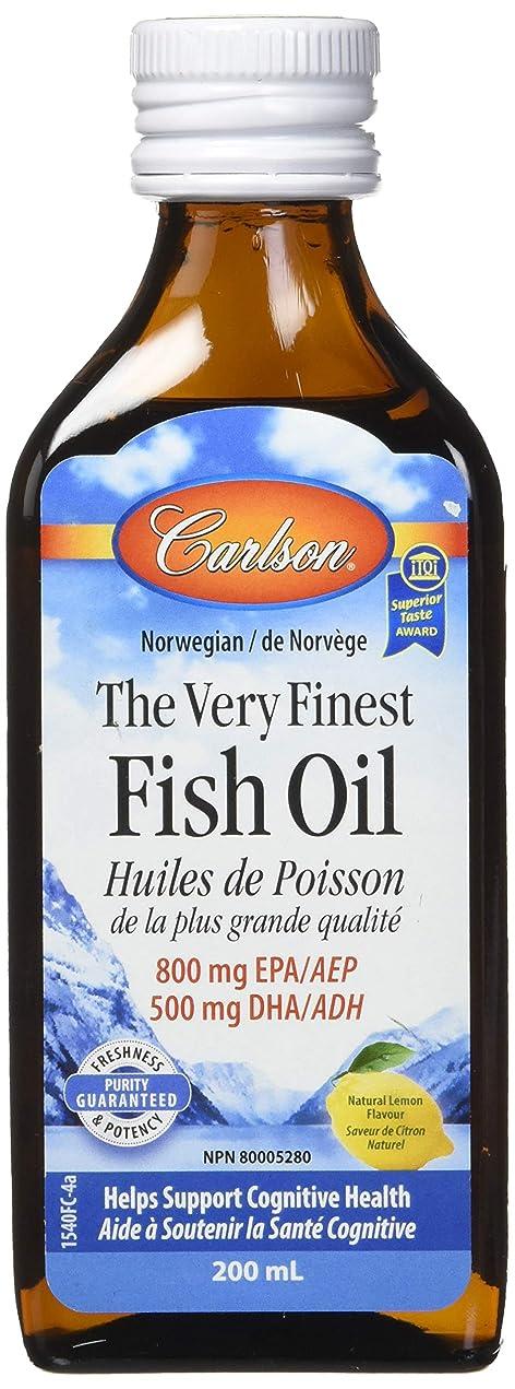 アルファベット順冒険者シダCarlson Labs - 最高級のノルウェーの魚の油の液体 Omega-3 DHA & EPA レモン風味 - 6.7ポンド