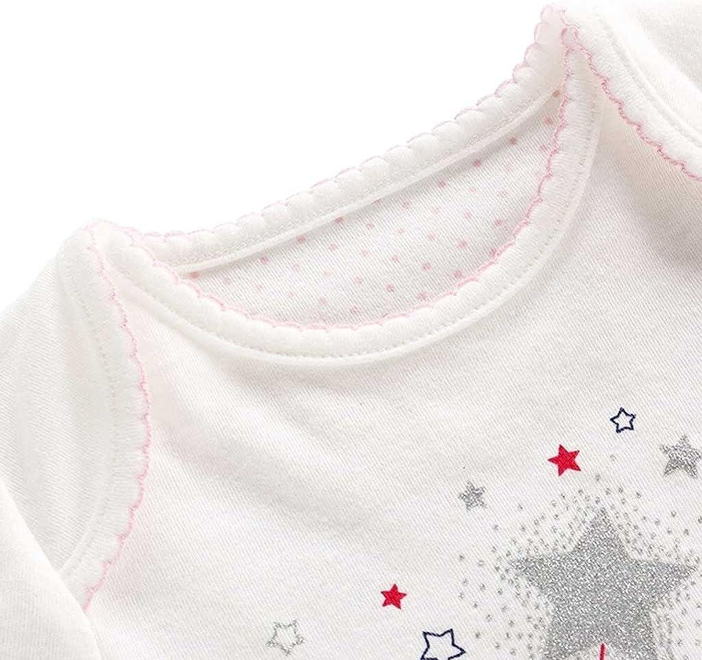 Bambino Pagliaccetto in Cotone Ragazze Jumpsuit Footies Pigiama Neonato Tutina Tutu Outfits
