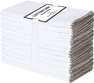 Galileo Casa Lot de 20 Serviettes en Papier Everyday 33 x 33 cm Gris