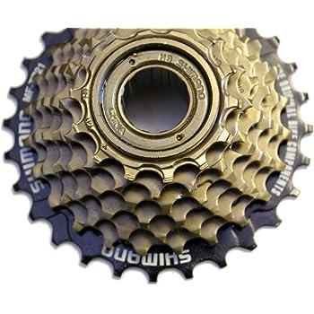 SHIMANO TZ21 Freewheel -Piñones atornillarles (7 velocidades, 14 ...