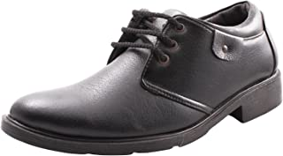 BELLY BALLOT Men's Leather Derby Shoes