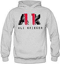MARC Women's Ali Krieger #11 Hooded Sweatshirt Ash