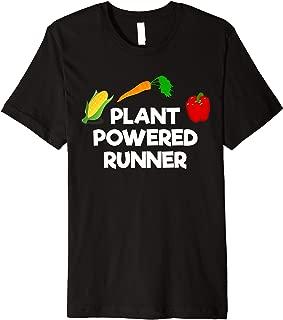 Plant Powered Runner Vegan Running Premium T-Shirt