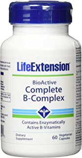 Life Extension Bio-Active Complete B-Complex, 60 Vegetarian Capsules (2)