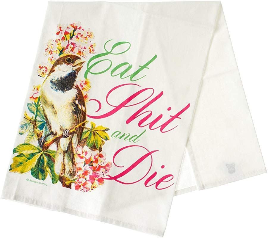 Sourpuss Die Tea Towel