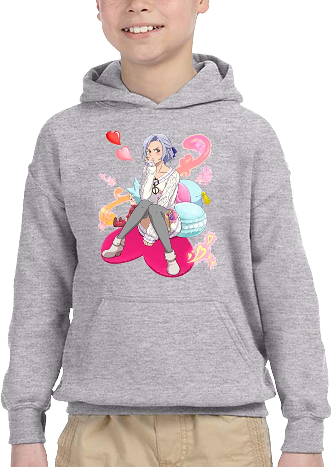 Jericho The Seven Deadly Sins Youth Pullover 3D Custo Boys Factory outlet Max 60% OFF Print
