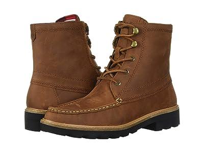Sperry A/O Leather Lug Boot (Tan) Women