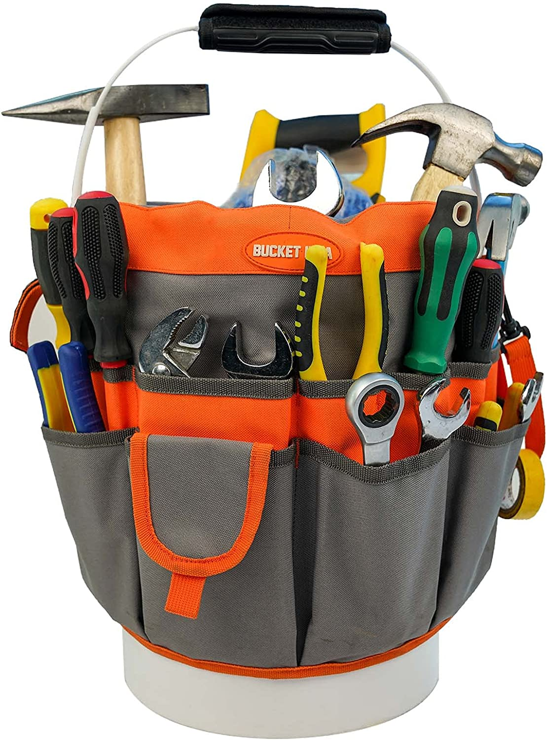 Bucket Super sale Idea Tool Organizer Fixed price for sale With 35 3.5-5 Pockets Fits to