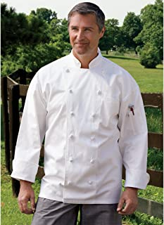 Uncommon Threads Unisex-Adult's Plus Size Executive Chef Coat