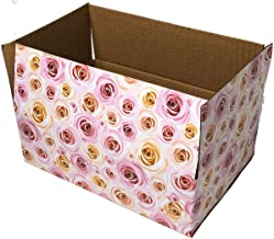 25 9x6x3 Rose Designer Boxes corrugated Cardboard Box Shipping Cartons Mailers Custom Printed Containers 9
