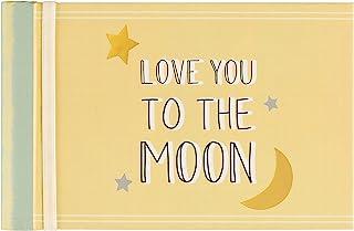 C.R Gibson BP73-23934 Love You to the Moon Baby Photo Album Brag Book, 7.25'' W x 4.5'' H
