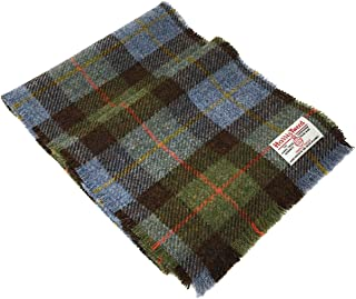 MacLeod Blue Tartan Wool Scarf