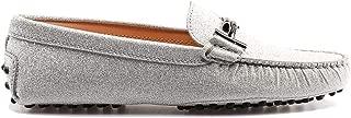 Tod's Luxury Fashion Womens XXW00G0Q499LXGB200 Silver Loafers   Fall Winter 19