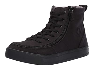 BILLY Footwear Classic Lace High Canvas SINGLE SHOE (Black to The Floor) Men