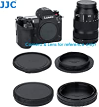 (2 Packs) JJC Leica L Mount Body Cap, Leica L Rear Lens Cap, Leica L Rear Cap, Leica L T Rear Lens Cover, Panasonic S Body Lens Cap, fits Leica SL TL2 TL T & Panasonic Lumix S1 S1H S1R, Sigma fp