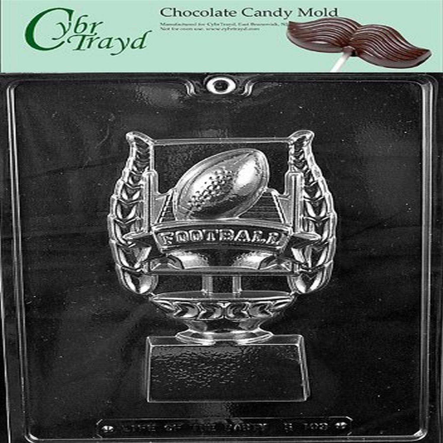 El Paso Mall FOOTBALL Mail order TROPHY FOR SPECIALTY candy chocolate mold