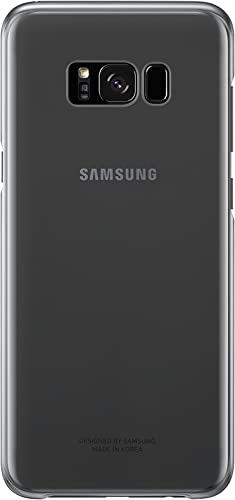 popular Samsung high quality popular Galaxy S8+ Clear Protective Cover, Black outlet online sale