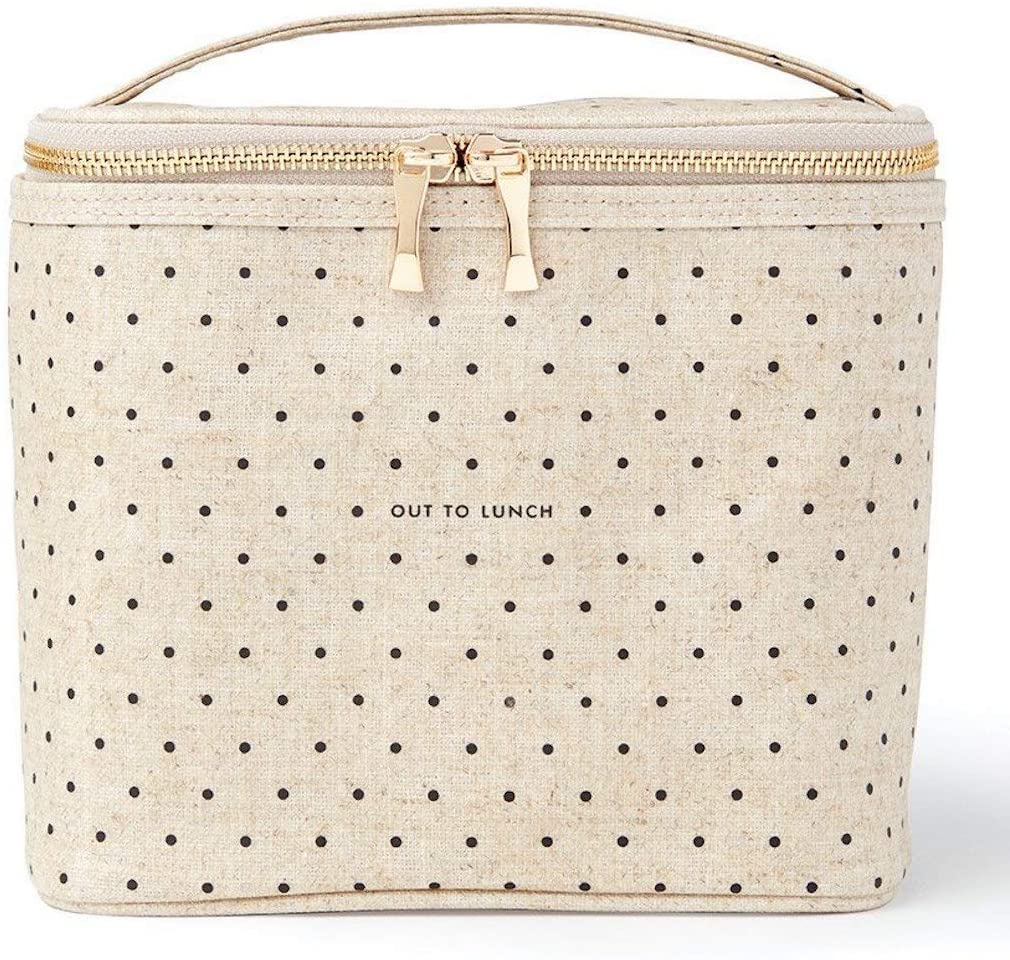 Kate Spade New York Lunch Tote Out Chicago Mall 67% OFF of fixed price Canvas Dots Deco To