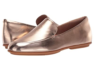 FitFlop Lena Loafer (Rose Gold Metallic) Women